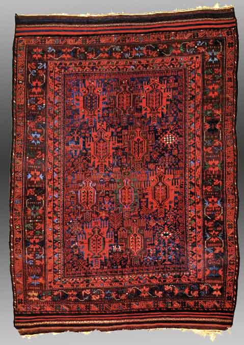 Baluch Madra Or Mosque Rug