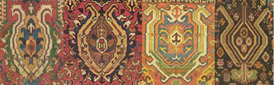 The Palmette as Decoration in Persian Oriental Rug Design NW Rugs
