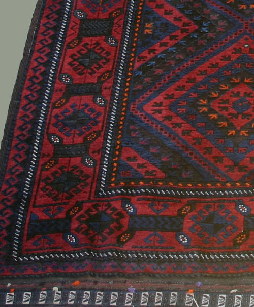 Do You Happen To Have Any Information About This Design Aside That It Is  Found On An Occasional Baluch Rug?